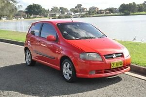 2006 Holden Barina TK Red 4 Speed Automatic Hatchback Croydon Burwood Area Preview