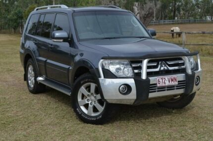 2010 Mitsubishi Pajero NT VRX Grey 5 Speed Automatic Wagon Berserker Rockhampton City Preview