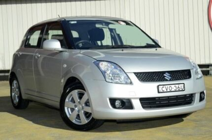 2008 Suzuki Swift RS415 S Silver 4 Speed Automatic Hatchback Lansvale Liverpool Area Preview