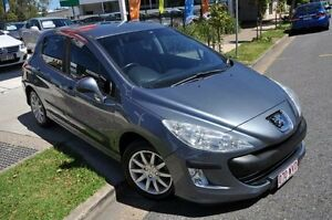 2008 Peugeot 308 T7 XS HDI Grey Seq Manual Auto-Clutch Hatchback Margate Redcliffe Area Preview