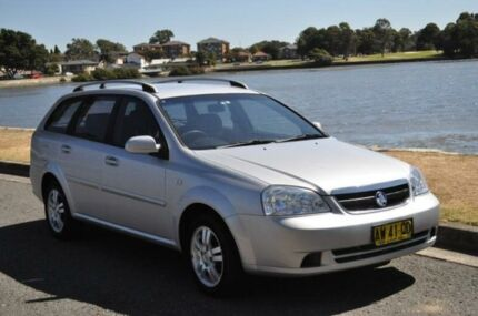 2006 Holden Viva JF Silver 5 Speed Manual Wagon