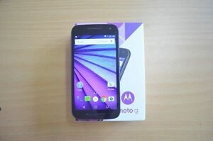 Unlocked Moto G G3 3rd Gen Like New in Box with Case & Warranty