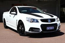 2014 Holden Ute VF MY14 SS V Ute Redline Heron White 6 Speed Sports Automatic Utility Northbridge Perth City Preview