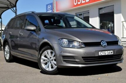 2015 Volkswagen Golf VII MY15 90TSI DSG Comfortline Grey 7 Speed Sports Automatic Dual Clutch Wagon Gosford Gosford Area Preview