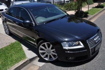 2005 Audi A8 D3 Black Sports Automatic Sedan