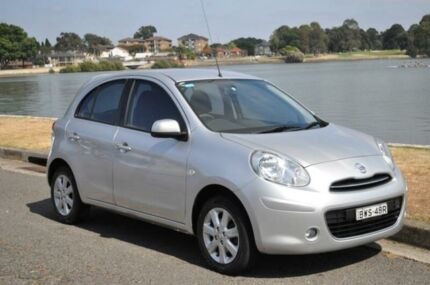 2011 Nissan Micra K13 TI Silver 4 SP AUTOMATIC Hatchback