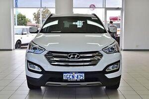 2013 Hyundai Santa Fe DM Elite CRDi (4x4) White 6 Speed Automatic Wagon Morley Bayswater Area Preview