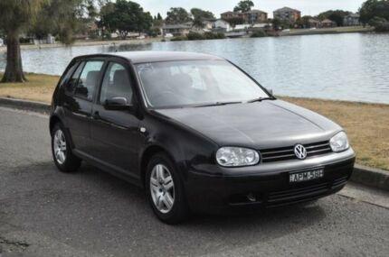 2003 Volkswagen Golf 1.6 Generation Black 5 Speed Manual Hatchback