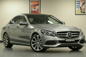 2016 Mercedes-Benz C250 W205 D Grey Semi Auto Sedan Chatswood Willoughby Area Preview