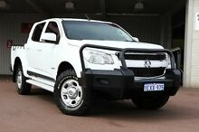2012 Holden Colorado RG MY13 LX Crew Cab Summit White 6 Speed Sports Automatic Utility Northbridge Perth City Preview