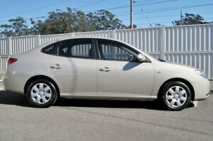 2010 Hyundai Elantra HD MY10 SLX Beige 4 Speed Automatic Sedan