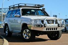 2012 Nissan Patrol Y61 GU 8 ST White 4 Speed Automatic Wagon East Rockingham Rockingham Area Preview