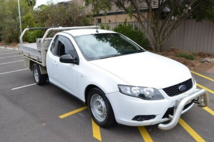 2010 Ford Falcon FG Super Cab White 4 Speed Automatic Cab Chassis Brompton Charles Sturt Area Preview