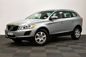 2011 Volvo XC60 DZ MY12 T5 PwrShift Silver 6 Speed Sports Automatic Dual Clutch Wagon Edgewater Joondalup Area Preview