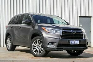 2014 Toyota Kluger GSU50R Grande 2WD Grey 6 Speed Sports Automatic Wagon Willetton Canning Area Preview