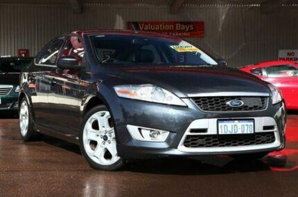 2010 Ford Mondeo MB Titanium Tdci Grey 6 Speed Auto Seq Sportshift Hatchback Northbridge Perth City Preview