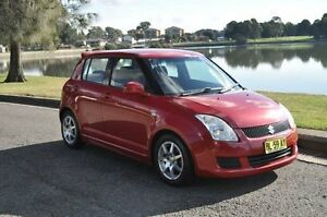 2007 Suzuki Swift EZ 07 Update S RE.1 Burgundy 4 Speed Automatic Hatchback Croydon Burwood Area Preview