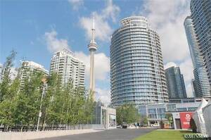 Gorgeous 2 Br Condo With Great Lake And City View At Queens Quay