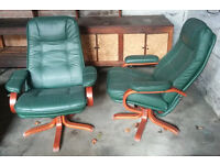 Ekornes stressless swivel chair x2
