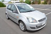 2006 Ford Fiesta WQ LX Silver 4 Speed Automatic Hatchback Brompton Charles Sturt Area Preview