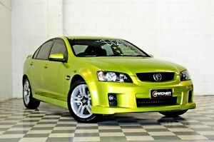 2008 Holden Commodore VE MY09 SV6 Green 5 Speed Automatic Sedan Burleigh Heads Gold Coast South Preview