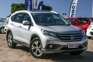 2014 Honda CR-V RM MY15 VTi-L 4WD Silver 5 Speed Sports Automatic Wagon Embleton Bayswater Area Preview