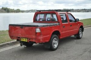 2001 Holden Rodeo TFR9 LT Red 5 Speed Manual Crew Cab Pickup