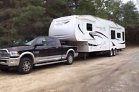 Towing Camper Travel Trailer RV & Boat moving transport Haul