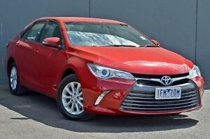 2015 Toyota Camry ASV50R Altise Red 6 Speed Sports Automatic Sedan Cranbourne Casey Area Preview