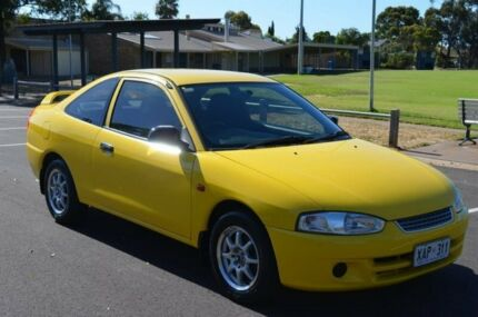 2003 Mitsubishi Lancer CE2 MY02.5 GLi Yellow 4 Speed Automatic Coupe Brompton Charles Sturt Area Preview