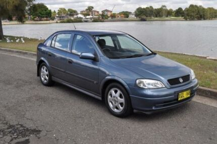 2001 Holden Astra TS CD Grey 4 Speed Automatic Hatchback