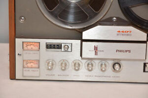 philips 4407 Reel-to Reel tape bobine 4 track tape player WORKS West Island Greater Montréal image 3