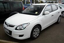 2010 Hyundai i30 FD MY11 SX White 4 Speed Automatic Hatchback Seaford Frankston Area Preview