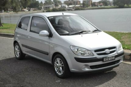 2007 Hyundai Getz TB Upgrade SX Silver 5 Speed Manual Hatchback