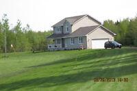 CORMIER VILLAGE,NB - HOUSE ON 5 ACRES