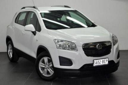 2014 Holden Trax TJ MY15 LS White 6 Speed Automatic Wagon Reynella Morphett Vale Area Preview