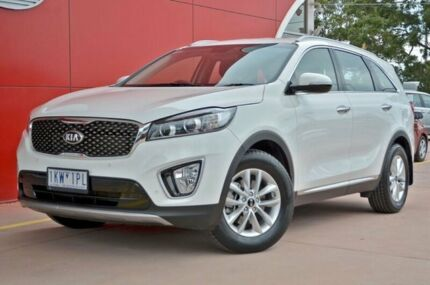 2015 Kia Sorento UM MY16 SI White 6 Speed Sports Automatic Wagon