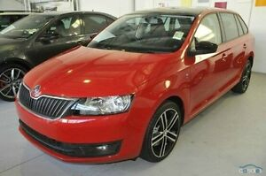 2014 Skoda Rapid Red Sports Automatic Dual Clutch Hatchback Seaford Frankston Area Preview