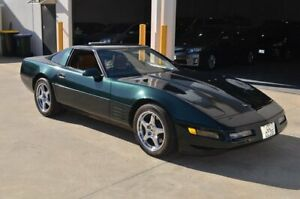 1991 Chevrolet Corvette C4 ZR1 Green 6 Speed Manual Coupe Brompton Charles Sturt Area Preview
