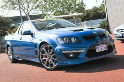 2012 Holden Special Vehicles Maloo E Series 3 MY12.5 Blue 6 Speed Manual Utility Glendalough Stirling Area Preview