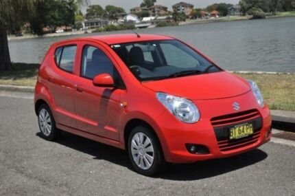 2013 Suzuki Alto GF MY12 GL Red 5 Speed Manual Hatchback