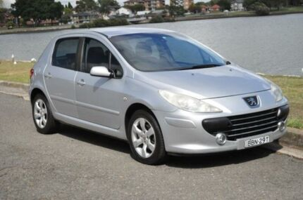 2007 Peugeot 307 MY06 Upgrade XS 1.6 Silver 5 Speed Manual Hatchback