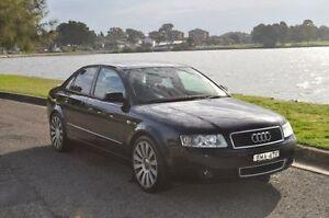 2002 Audi A4 B6 1.8T Blue CVT Multitronic Sedan Croydon Burwood Area Preview