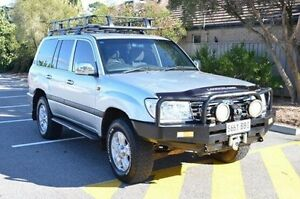 2006 Toyota Landcruiser HDJ100R GXL Silver 5 Speed Automatic Wagon Brompton Charles Sturt Area Preview