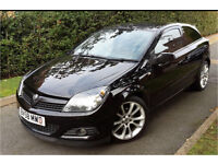 2008 Vauxhall Astra design 1.6 petrol 3 door, low mileage, VxR 18inch alloys, half leather seats