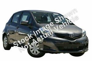 2012 Toyota Yaris NCP130R YR Grey 5 Speed Manual Hatchback