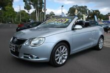 2008 Volkswagen EOS 1F MY08 Upgrade 2.0 TDI Silver 6 Speed Direct Shift Convertible Upper Ferntree Gully Knox Area Preview