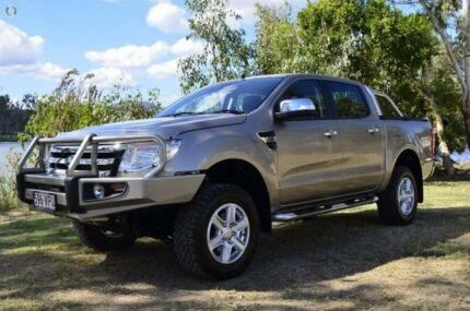 2015 Ford Ranger PX XLT Double Cab Gold 6 Speed Sports Automatic Utility