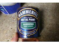 Green metal paint