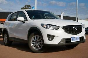 2014 Mazda CX-5 KE1071 MY14 Maxx SKYACTIV-Drive Sport White 6 Speed Sports Automatic Wagon Wilson Canning Area Preview